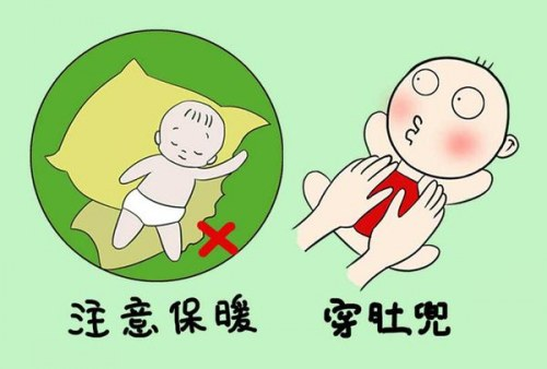 婴儿肚兜作用