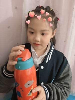 戒之馆316儿童保温水杯怎么样?宝宝学饮吸管水杯使用感受分享
